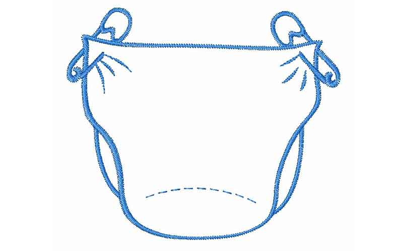 small change diaper bank is hosts a diaper party rh toledoparent com diaper clip art black and white diaper clip art black and white