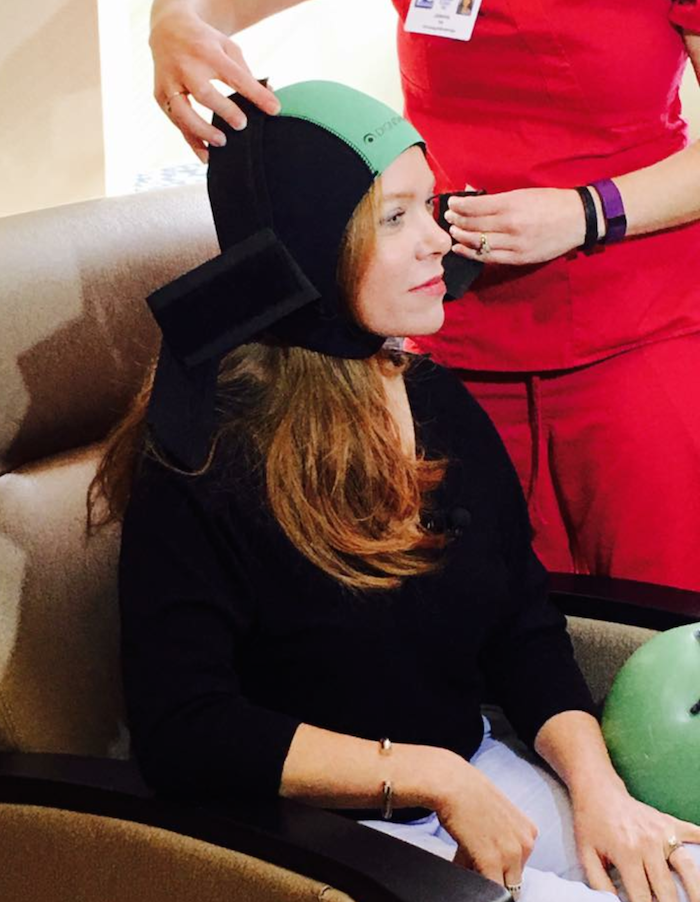PARENT PROFILE_Bobbi Johnson-Filipiak uses cold cap therapy during chemo to save her hair