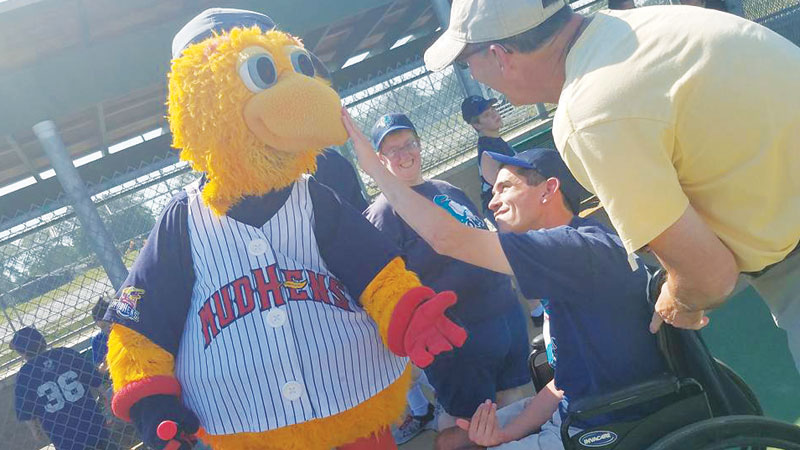 The Miracle League of Northwest Ohio gives all children the opportunity to be baseball players