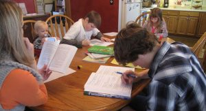 Some ideas for homeschooling families to prepare for the new year
