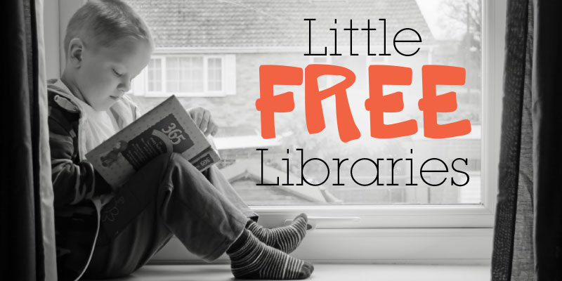 Local lending libraries, as well as those around the world, are listed at littlefreelibrary.org.