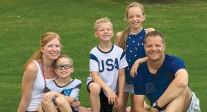 The Augustyniak family, 4th of July.