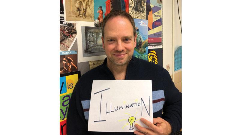 Matt Kizaur chooses a word each year that represents a transformation.