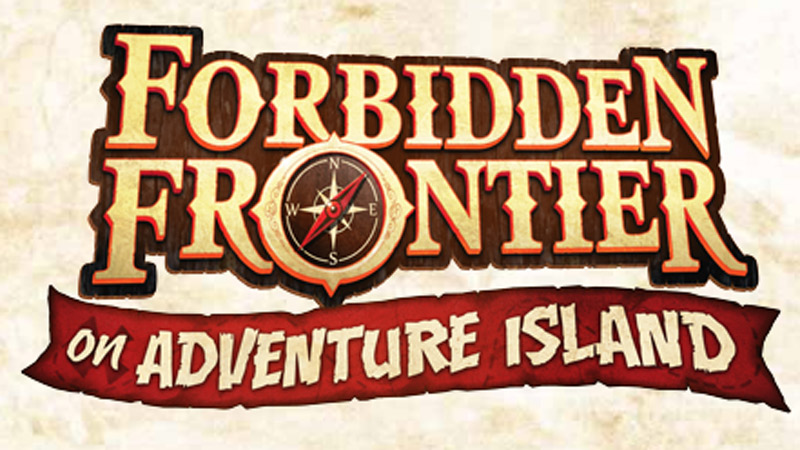 Forbidden Frontier on Adventure Island attraction at Cedar Point.