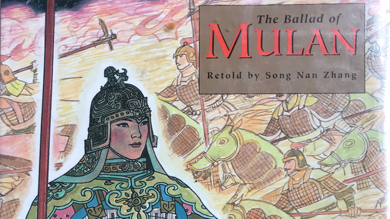 The Ballad of Mulan book