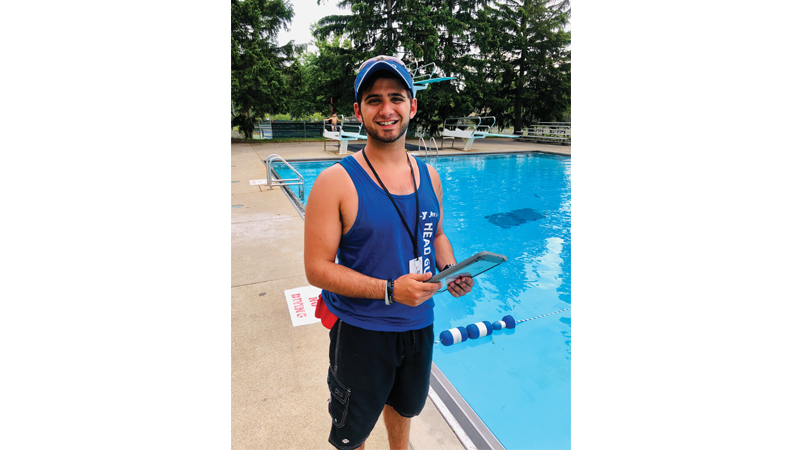 Aaron Hubbard, Aquatics Director at the Sylvania YMCA/JCC