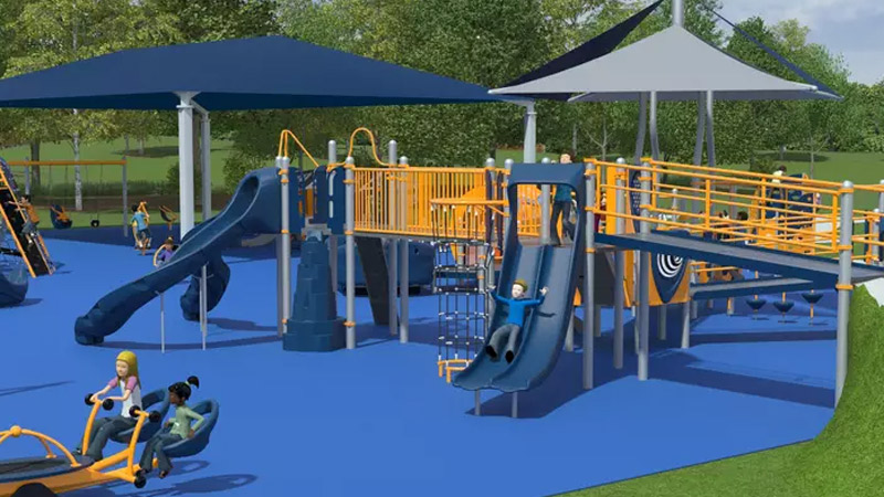 all-inclusive playground in Perrysburg