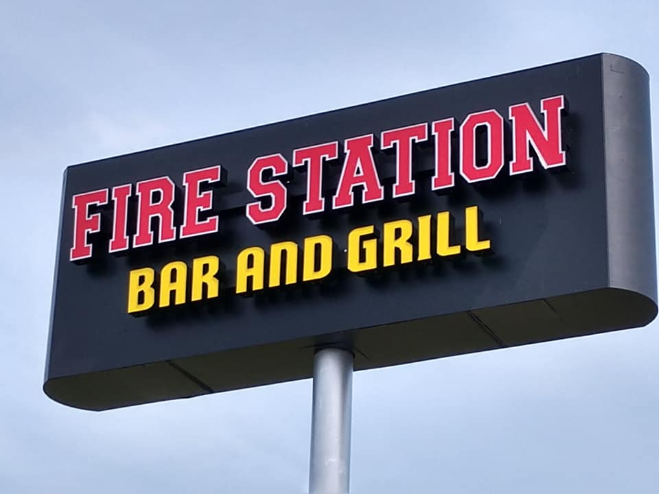 Fire Station-sign
