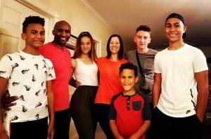 The Thomas Family.