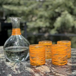 VerveGlasswareSet_Orange